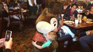 Disneyland - Meeting Dale for the first time - Character Break…