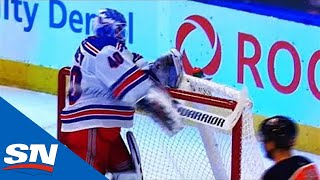 Georgiev Goes Ballistic And Smashes Up Stick After Giving Up 6 Goals