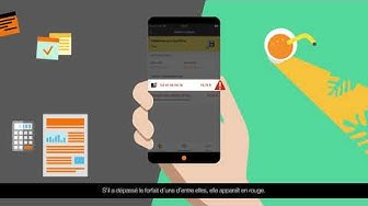 #4 Application Orange Pro : suivre sa conso