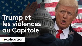 Comment la communication de Trump a mené aux violences du Capitole