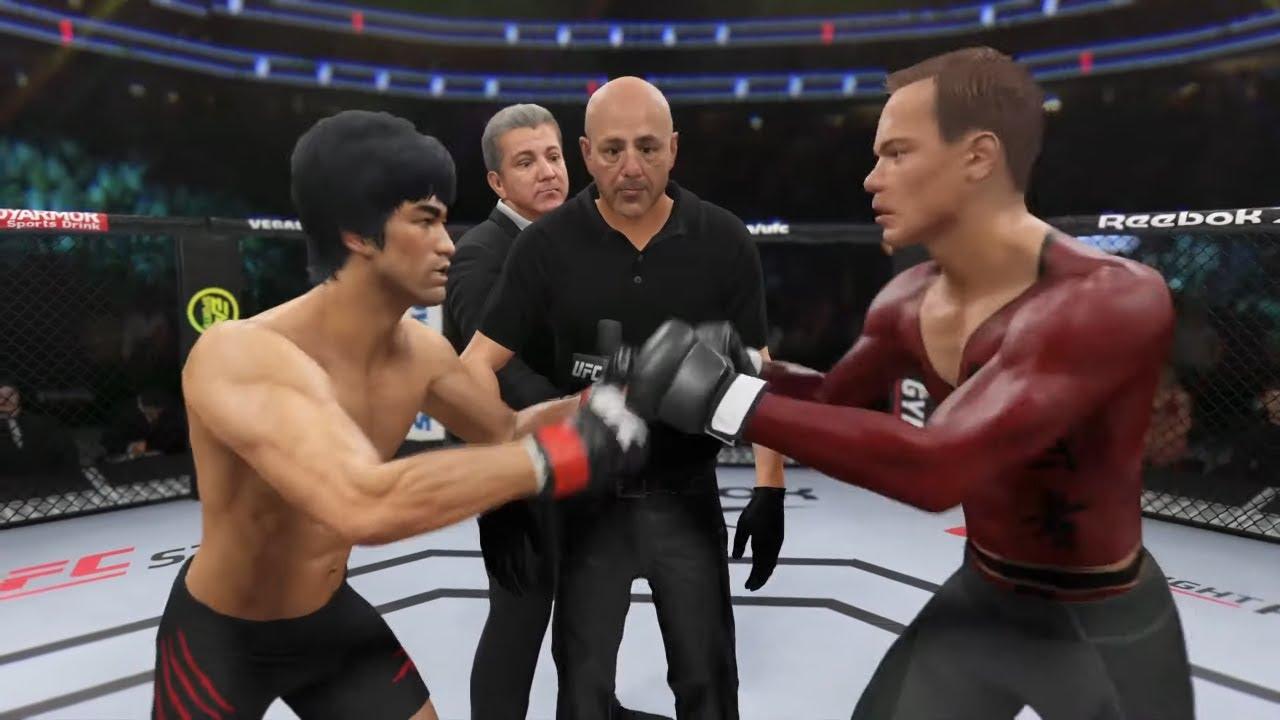 UFC 4 | Bruce Lee vs. Jeanclaude Vandamme (EA Sports UFC 4)