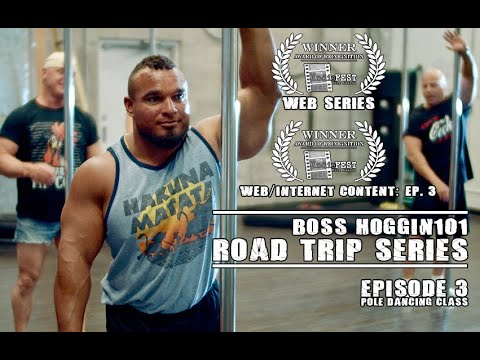 Boss Hoggin101 Road Trip Series - Episode 3 - Pole Dancing at Prowess Pole Fitness