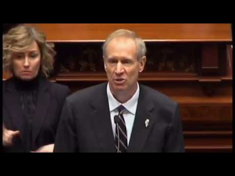 State of the State   Bruce Rauner   Illinois