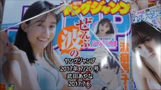 ヤングジャンプ 2017年 7/20 号 武田あやな シェアOK お気軽に 【映画鑑...