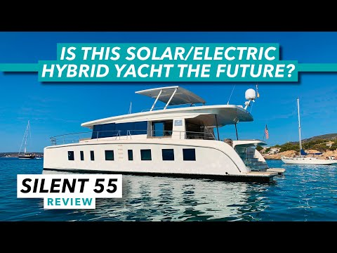 Silent Yachts 55: Solar/electric hybrid yacht test | Review | Motor Boat & Yachting