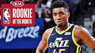 Donovan Mitchell | Rookie of the Month | January 2018