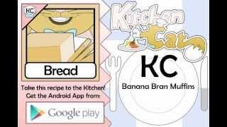 Banana Bran Muffins - Kitchen Cat