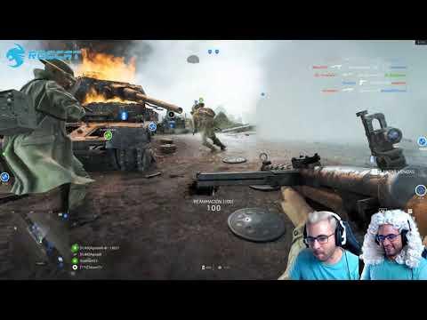 Battlefield V Cazando chetos, si es que juegan con la lengua xD thumbnail