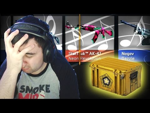 EMBARRASSING SINGING LESSONS STORY - CS GO CASE OPENING