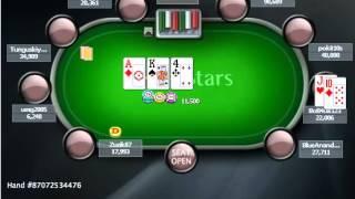 Раздача дня школы PokerStarter: MTT - Стил с J10