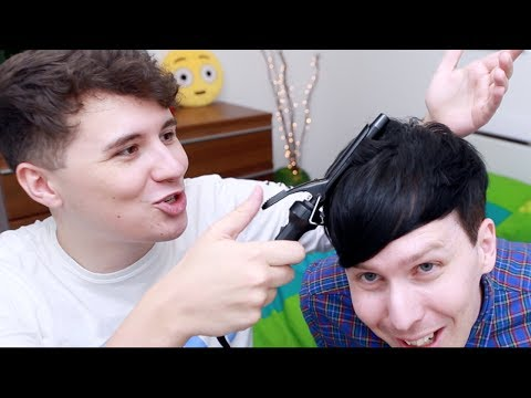 DAN CURLS MY HAIR!