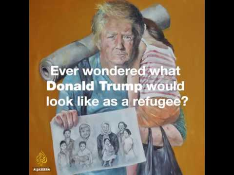 World most famous leaders as refugees