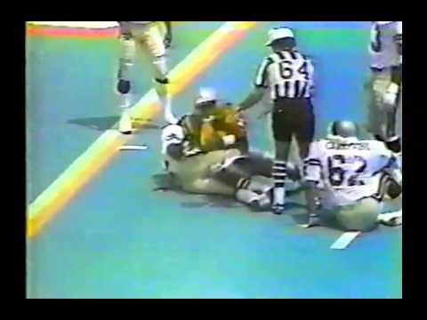 1983 USFL Week 17 Michigan Panthers @ Chicago Blitz