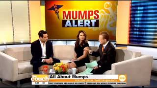 Dr. David Greuner Talks About Symptoms, Treatment And Prevention Of Mumps