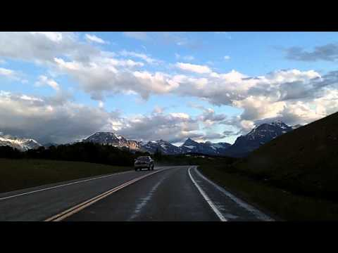 Many Glacier to Babb, St. Mary, Glacier National Park, US 89 Montana