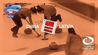 HIGHLIGHTS: China v Latvia - Women - Olympic Qualification Event 2017
