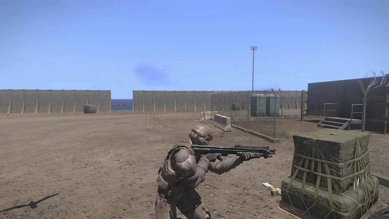Arma 3 Halo mod - Operation Trebuchet - Uniform and Weapon Review