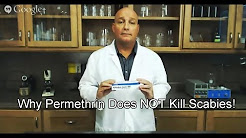 Natural Scabies Treatment Help | Why Permethrin Cream Does Not Work!