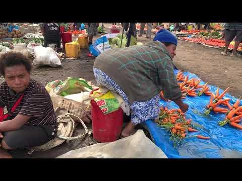 ゴロカマーケット@パプアニューギニア Goroka Market@Papua New Guinea