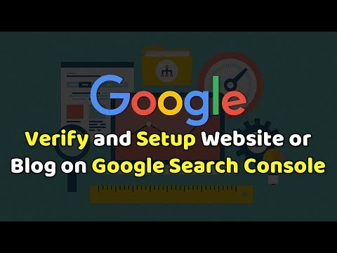 How to Submit & Verify Website/Blog on Google Search Console?