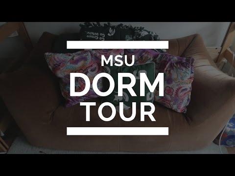 Michigan State University | DORM ROOM TOUR