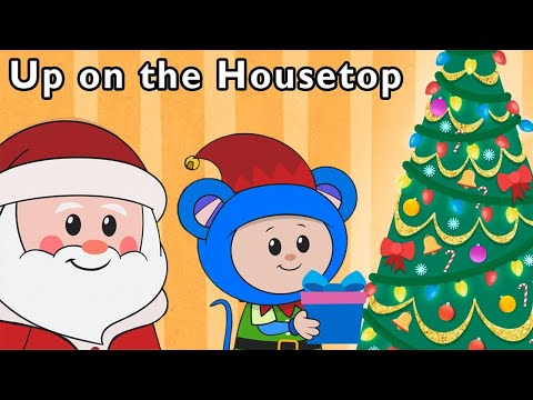 Holiday Special | Real Santa Brings Toys and More | Baby Cartoon Song from Mother Goose Club!