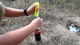 Ракета из кока-колы и пропана | Fail