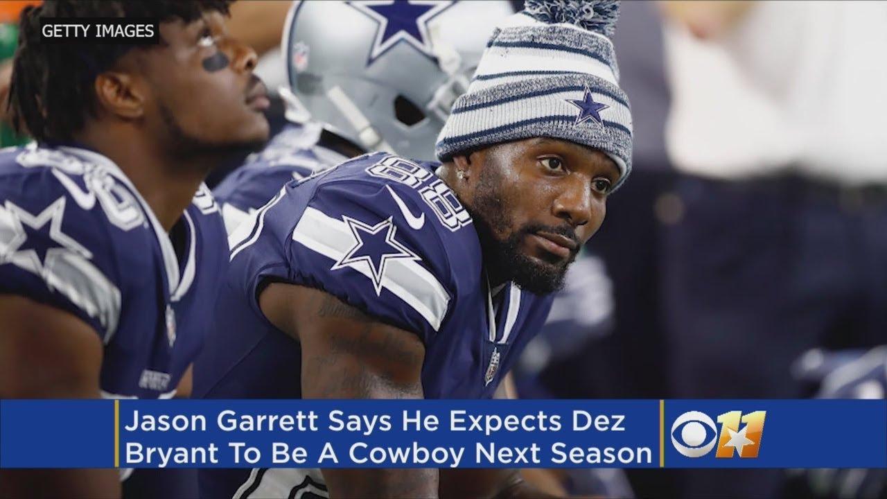 Cowboys Coach Jason Garrett Says Dez Bryant Isn T On The Way Out