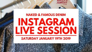 Instagram Live Session - January 19th 2019