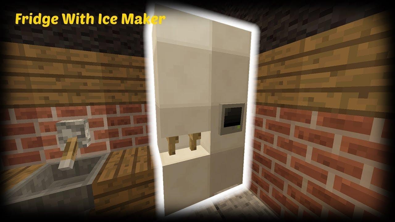 как сделать в майнкрафте холодильник #2