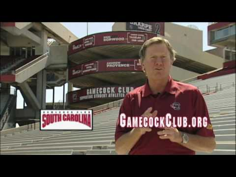 Coach Spurrier And The 2001 Gamecock Club Promotion