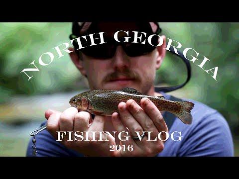 Trout Fishing North Georgia 2016 Fishing Vlog