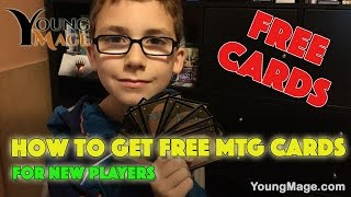 How to Get Free #MTG Cards