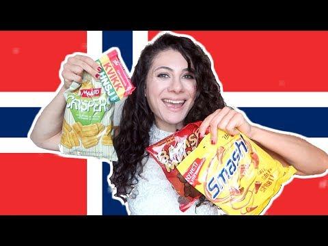 NORWAY SNACKS TASTE TEST | TRAVEL VLOG IV