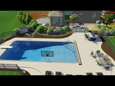Sussex, WI Pool Walkthrough