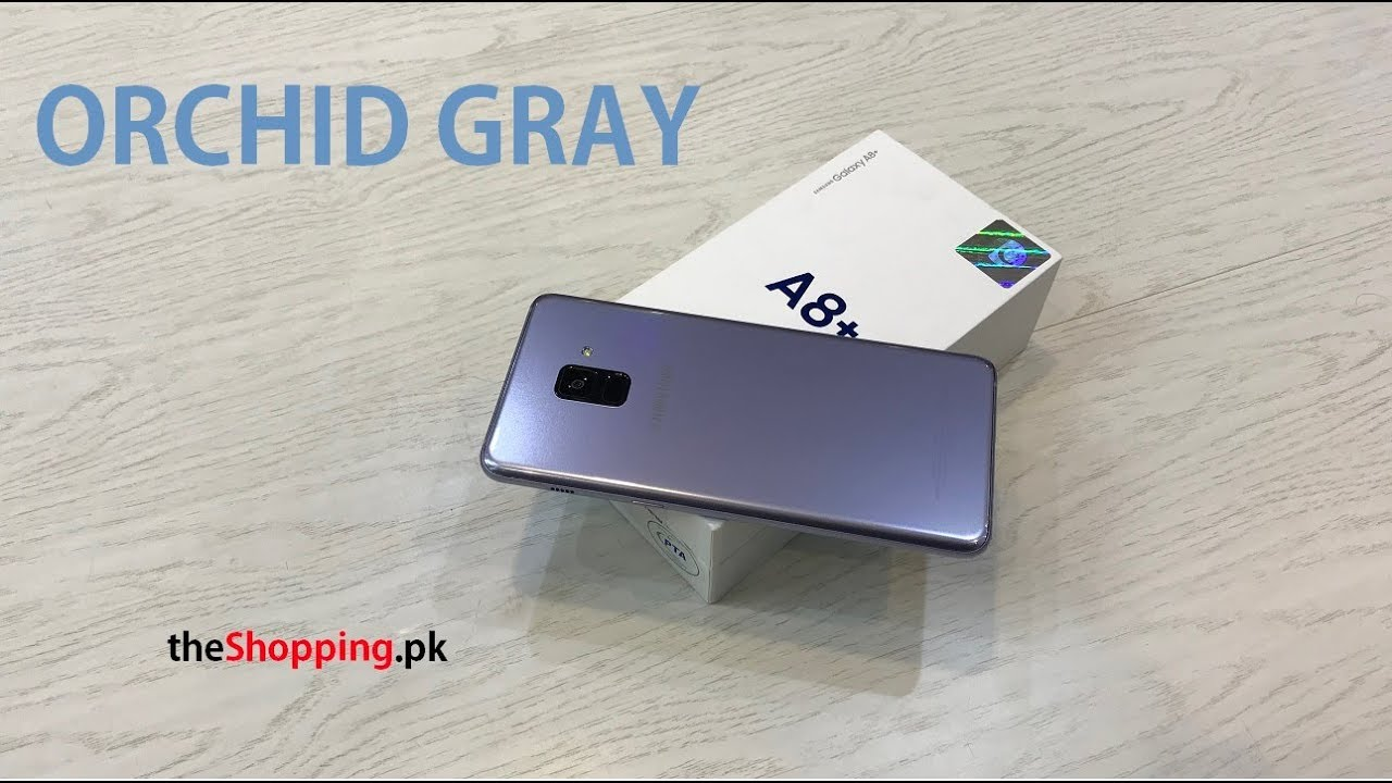 Samsung Galaxy A8 Orchid Gray 2018 Youtube