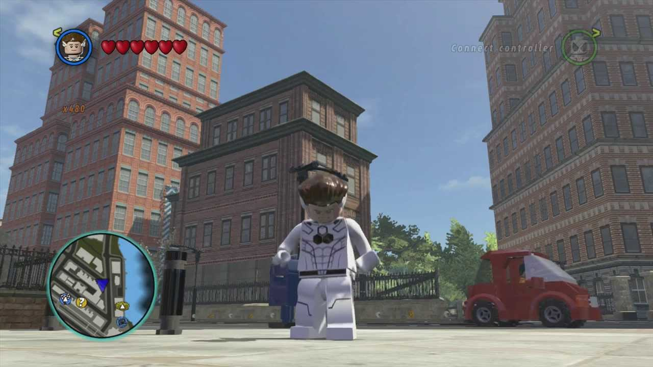 LEGO Marvel Superheroes Future Foundation Mister Fantastic ...