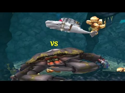 Hungry shark evolution megalodon vs giant crab - photo#38