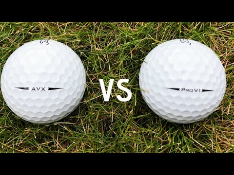 Titleist AVX - New Titleist Ball for 2018... Is this the end of the Pro-V1?