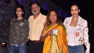 Malaika Arora With her Family at Helen