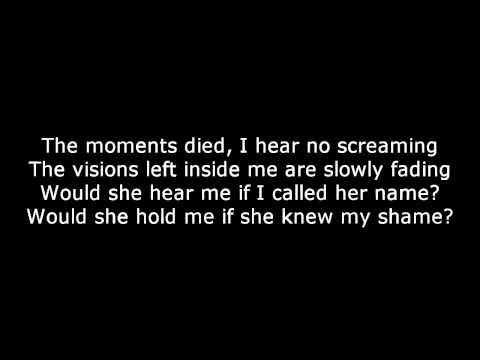 Bullet For My Valentine - Tears dont fall lyrics