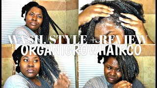 FLAT TWIST LIKE A PRO | WASH, STYLE + REVIEW | ORGANIGROWHAIRCO |  Bubs Bee