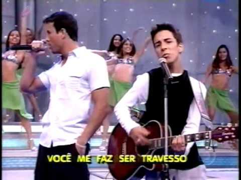 Enrique Iglesias,Sandy e Junior  no Faustão #you're my number one