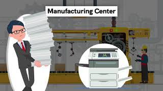 Watch How PRINTRONIX P8000 Line Matrix printers solve high volume Industrial printing challenges