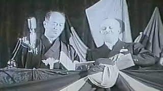鹿児島・ナポリ姉妹都市盟約調印式