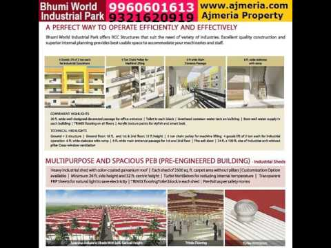 Available Industrial Shed for Solar water heating system & Home, lift UPS Manufacturing unit in Bhum