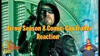 Arrow Comic Con 2019 Sizzle Reaction