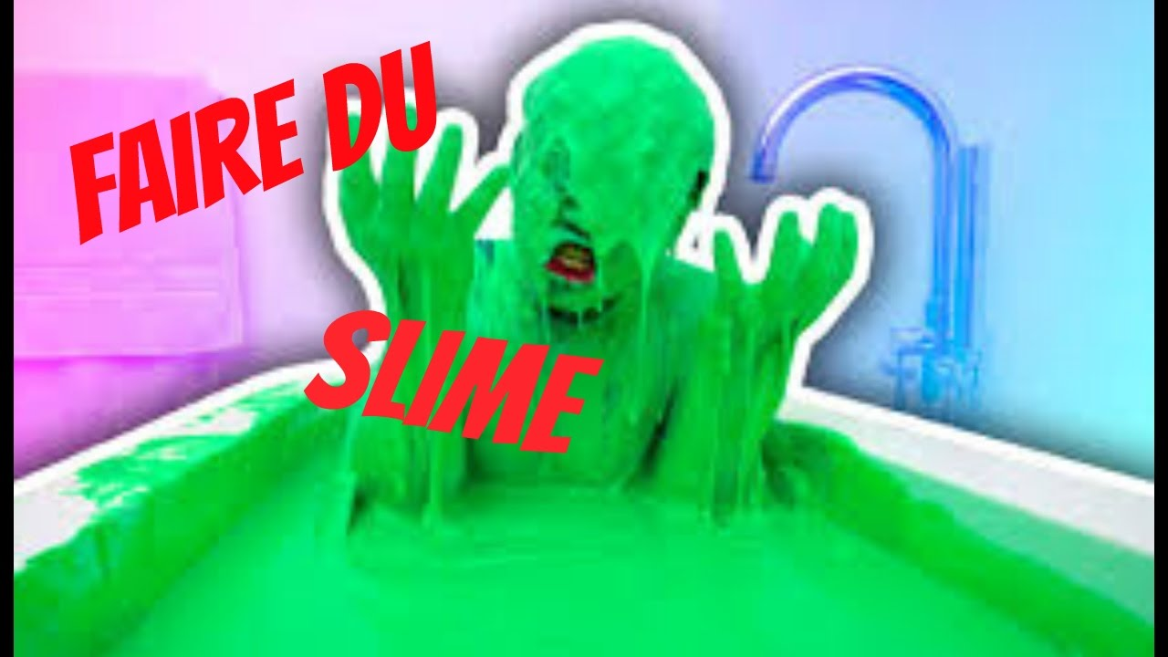 comment faire du slime youtube. Black Bedroom Furniture Sets. Home Design Ideas