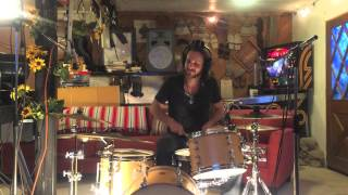 """""""Nature of the Beast"""" Jim Van Cleve Bluegrass Drum Cover"""