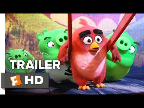 The Angry Birds Movie Official Trailer #1 (2015) - Peter Dinklage, Bill Hader Movie HD